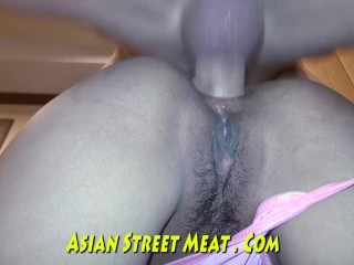 Tattoed Anal Fuck Toy Asian Freak