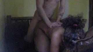 South Indian get fucked hard in doggy style