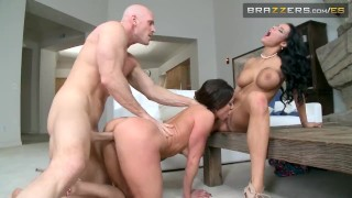 Brazzers mis dos esposas 3some mother