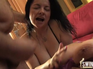 Big girls riding dildos seduced and fucked, cums ass monster up fuck anal
