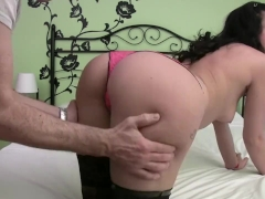 Homemade fake casting to a horny spanish babe