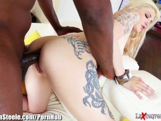 Lex Steele Ass Fucks Horny Tattooed Chick