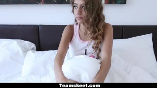 CFNMTeens - Quick Morning Fuck With Her Step-Brother Girlfriend amateur