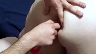 BBW First time anal with creampie/cumshot End