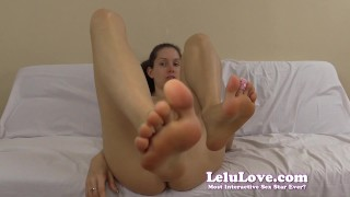 Preview 3 of Cum virtually fuck my feet and cum all over them