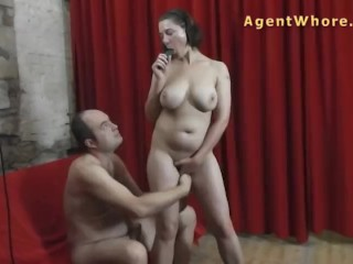 Wife Gets Hard Fuck Older Man Is Enjoying With Busty Milf, Big Tits Toys Milf