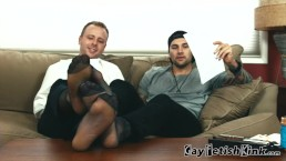 Foot worship Master Kurt & Landon