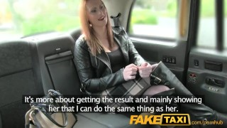 Preview 3 of Fake Taxi Lucky cabby gets big natural tits