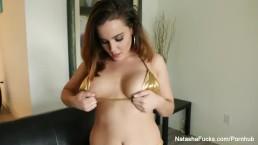 Natasha Nice returns with a sexy solo scene