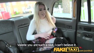 FakeTaxi Escort needs cock after close call Big fast