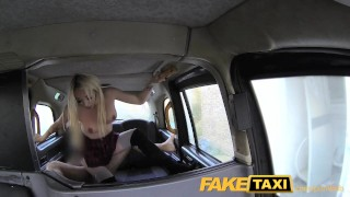 FakeTaxi Escort needs cock after close call porno