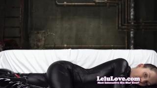 Lelu Love-Catty Woman Toying With Batty Man