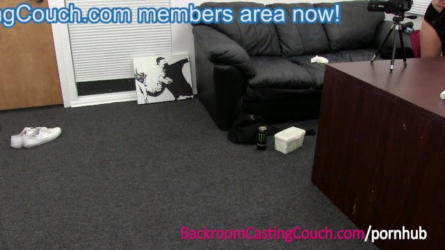 Chubby casting couch - Mexican babysitter first anal and creampie