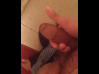 Teen Solo Masturbation until he busts