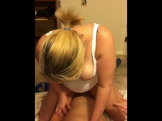 Sexy wife rides cock