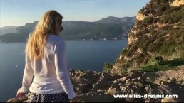 Flashing my pussy in public in Cassis