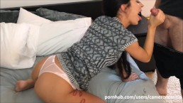 FamilyStrokes- Step Brother and Sister Sneak Fuck Next to MOM