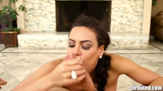 Preview 5 of Throated Latina Luna Star