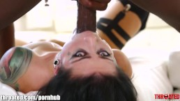 Throated Katrina Jade Battles The BBC