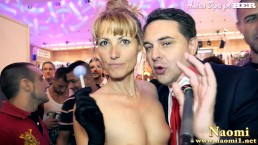 Exhibitionist Naomi masturbates herself for Andrea Diprè