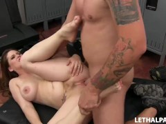 Hot Stepmom Gets Creampied!