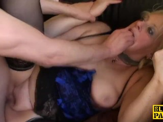 Assfucked uk gilf plowed hard and facialized - 1 part 3
