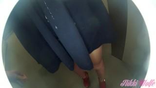 01 Cum in the elevator Friday Night part1 Nikki's Weekends #1