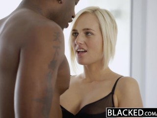BLACKED Blonde Kate England Gets Anal From Huge Black Cock