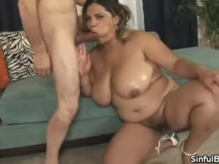Spicing It Up With BBW Lady Spice
