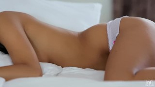 Romantic sex leaves her showered in cum  doggy style babe nubilefilms blowjob cumshot small tits skinny missionary sensual brunette czech petite shaved romantic orgasm lexi dona