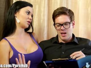 Free Spy Porn Tube British Milf Jasmine Jae Fucks Immigration Officer, Big Tits Creampie Milf Pornst