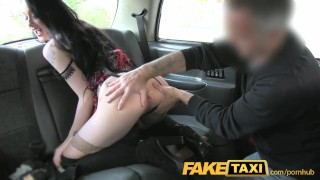 FakeTaxi lady in stockings gets creampied Ever ever