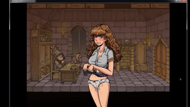 Witch Trainer Hermione Sex Scenes Harry Potter Hogwarts