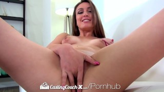 CastingCouch-X - Alexa Raye spreads her long legs at her porn audition  stripping hd amateur blowjob small tits brunette cowgirl fingering shaved doggystyle facial castingcouch x shaved pussy alexa raye