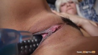 Óga blonde Busty milf Threesome Bang hd21.com