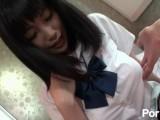 【無修正】黒髪女子高生と中出しハメ撮りを満喫