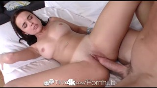 Tiny4K - Dillion Harper touches herself before being fucked