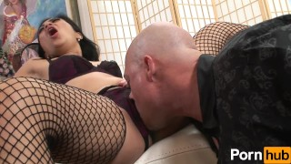 MILFs Take Charge 1 - Scene 4 filipina milf hardcore pornhub asian fishnet mom blowjob shaved cock-sucking mother small-tits reverse-cowgirl doggy-style stockings big-dick pussy-licking facial