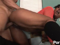 Round Ebony Ass 10 - Scene 1