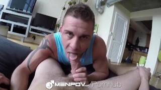 MenPOV - Darin Silvers Fucks Sean Cross in 2-Way POV