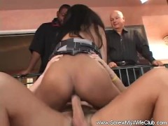 Swinger Wife Likes a Creampie
