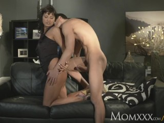MOM Man eater older woman does what she wants with young stud