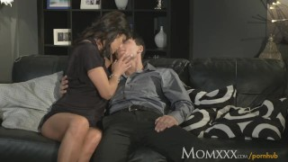 MOM Man eater older woman does what she wants with young stud porno