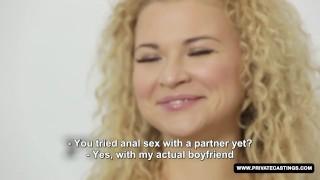Hardcore a miss nice has angel interview casting ass deepthroat