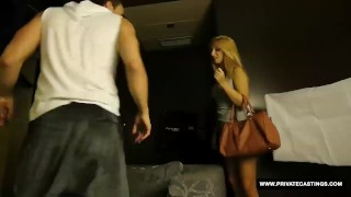 Lolita her casting has spanish nikky baby style cumshot