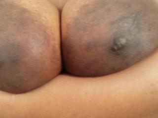 huge black areolas - BIG black areolas