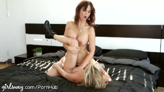 Girlsway Sasha Heart Hate Fucks Her Step-Mommy  older younger facesitting redhead femdom mom blonde tattoo milf lesbian cougar girlsway mother tribbing big boobs natural tits step mom girl on girl