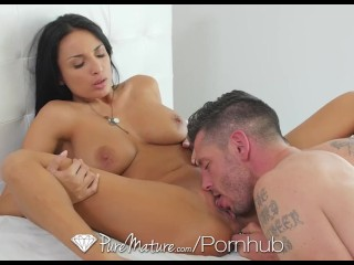 PureMature – Anissa Kate's superb ass is pounded by hard cock