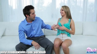 Preview 3 of OnlyTeenBlowjobs Kimmy Granger HOT Cocksucker