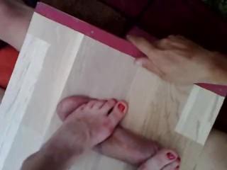 Torrie Wilson Porn Video Nice Feet On Cockbox Cock And Balls Trample Massage - Pov